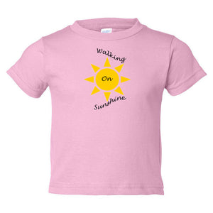 Walking On Sunshine Toddler Cotton Jersey Tee