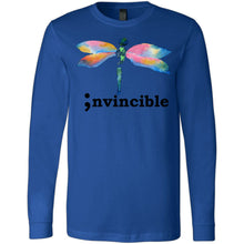 Load image into Gallery viewer, Invincible Long Sleeve Jersey Tee