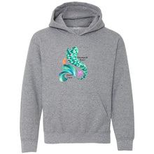 Load image into Gallery viewer, Mermaid Hair Youth Hooded Sweatshirt