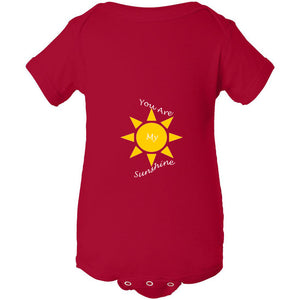 You Are My Sunshine Infant Fine Jersey Bodysuit