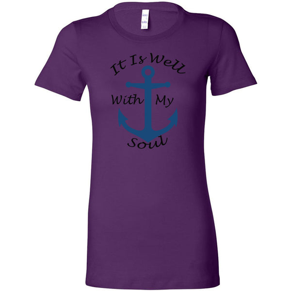 It Is Well With My Soul Women's The Favorite Tee