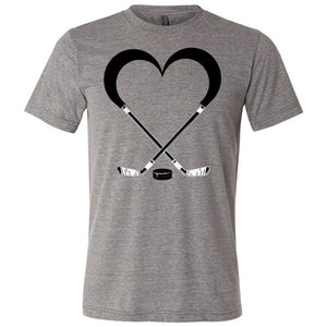 Love Hockey Unisex Triblend Short Sleeve Tee