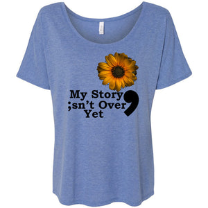 My Story Women's Slouchy Tee