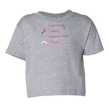 Load image into Gallery viewer, Dance With Fairies Toddler Cotton Jersey Tee