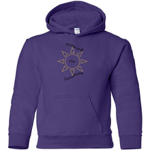 Load image into Gallery viewer, Walking On Sunshine Heavy Blend Youth Hooded Sweatshirt