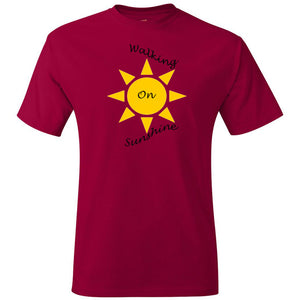 Walking On Sunshine Tagless T-Shirt