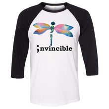 Load image into Gallery viewer, Invincible Unisex Three-Quarter Sleeve Baseball T-Shirt