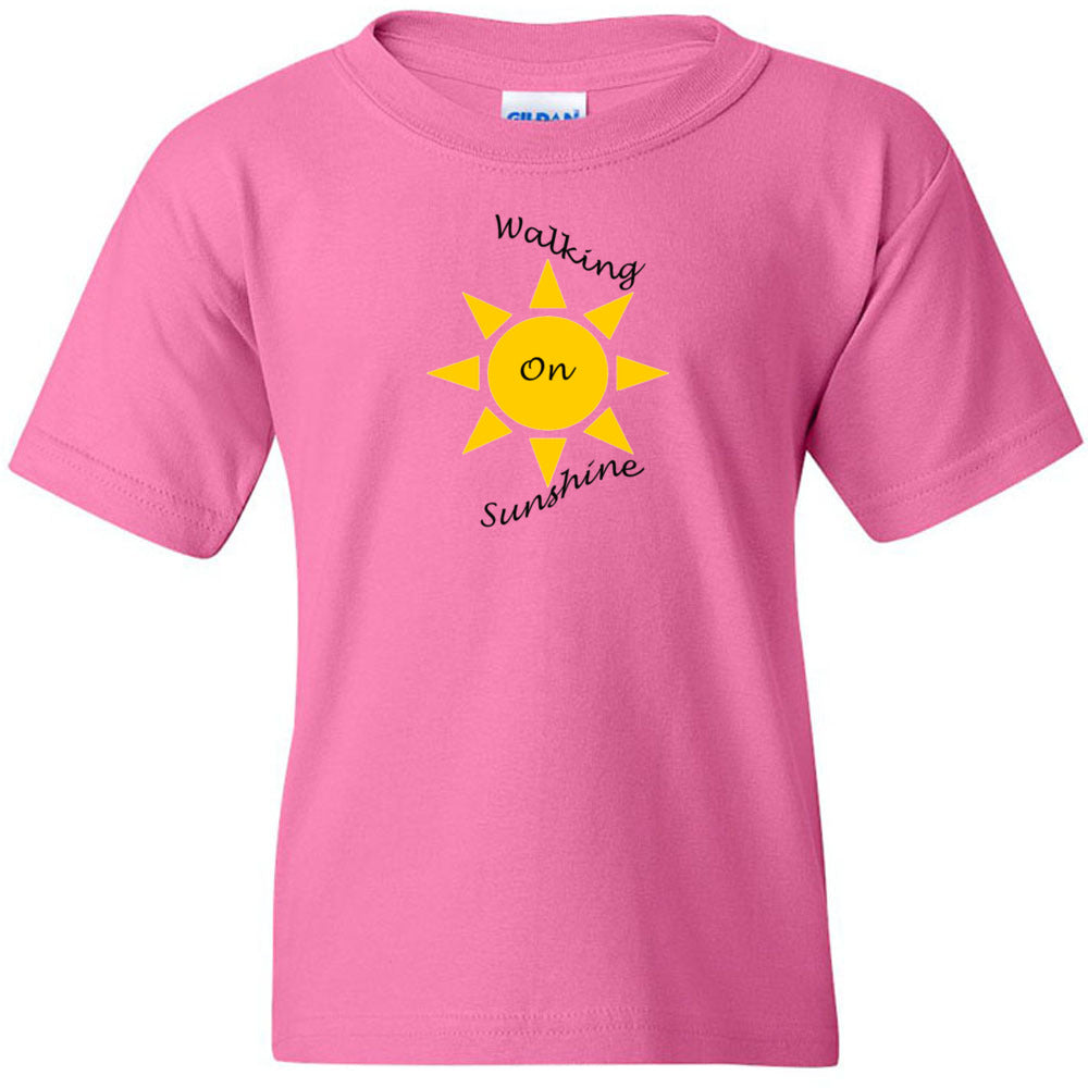 Walking On Sunshine Heavy Cotton Youth T-Shirt