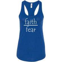 Load image into Gallery viewer, Faith Over Fear Women's Ideal Racerback Tank