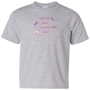 Dance With Fairies Heavy Cotton Youth T-Shirt