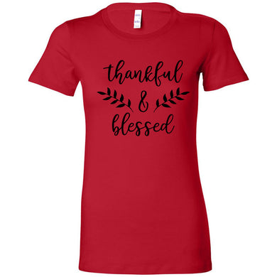 Thankful & Blessed Women's The Favorite Tee