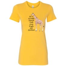 Load image into Gallery viewer, Be A Giraffe Women's The Favorite Tee