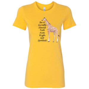 Be A Giraffe Women's The Favorite Tee