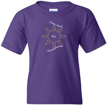 Load image into Gallery viewer, You Are My Sunshine Heavy Cotton Youth T-Shirt