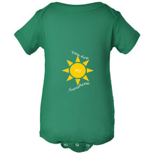Load image into Gallery viewer, You Are My Sunshine Infant Fine Jersey Bodysuit