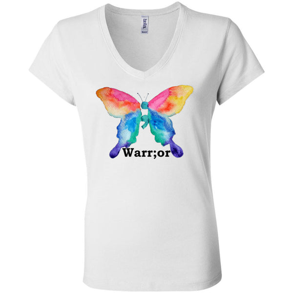 Warrior Women's Short Sleeve Jersey V-Neck Tee