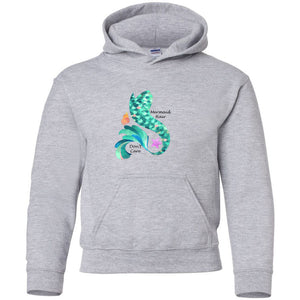 Mermaid Hair Youth Hooded Sweatshirt