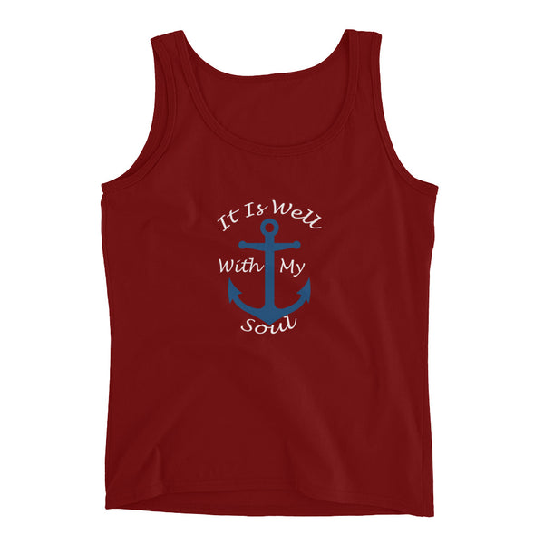 It Is Well With My Soul Ladies' Tank