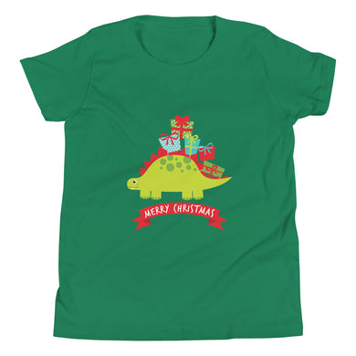 Merry Christmas Stego Youth Short Sleeve T-Shirt
