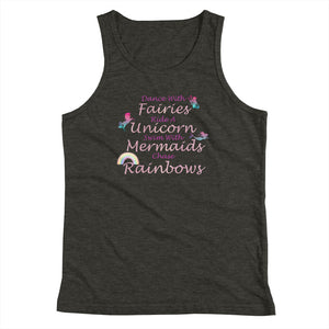 Dance With Fairies Youth Tank Top