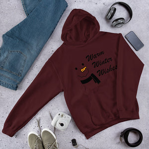 Warm Winter Wishes Unisex Hoodie