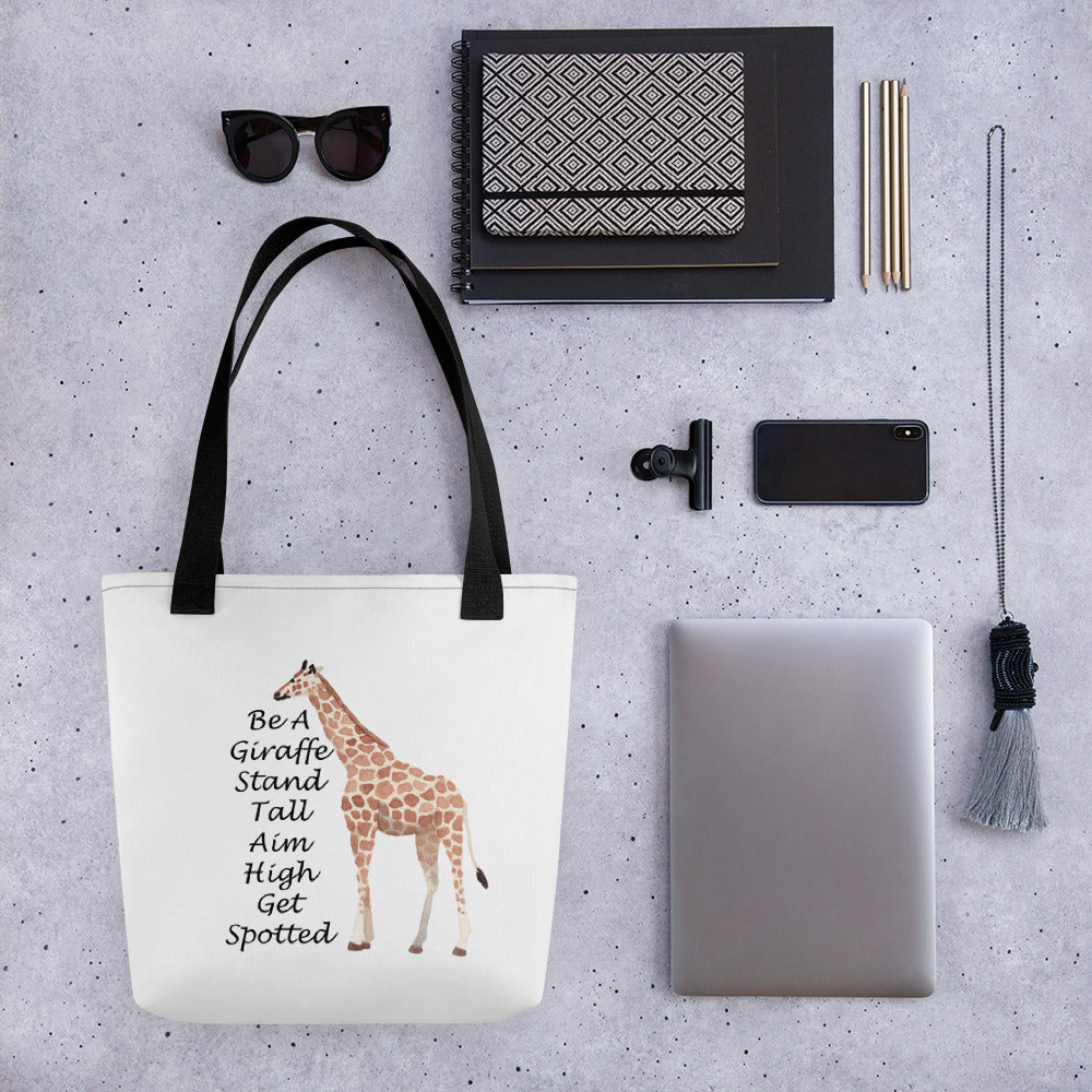 Be A Giraffe Tote bag