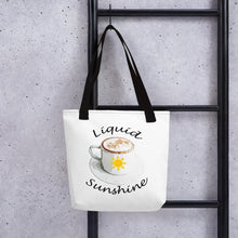 Load image into Gallery viewer, Liquid Sunshine Tote bag