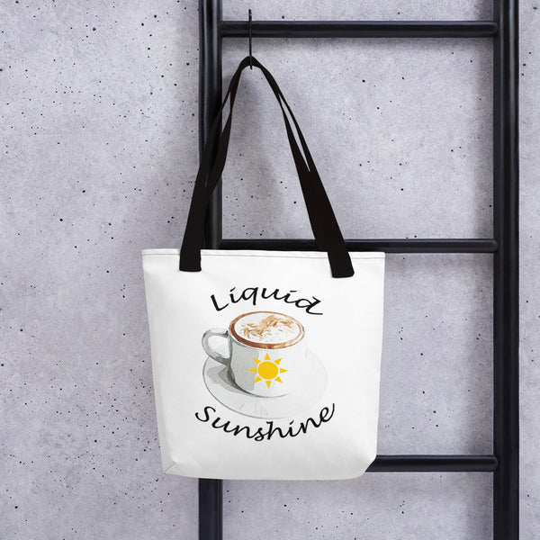 Liquid Sunshine Tote bag