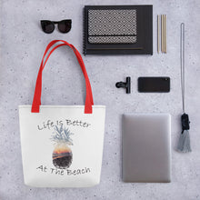 Load image into Gallery viewer, Life Is Better Tote bag