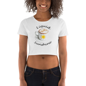Liquid Sunshine Women's Crop Tee