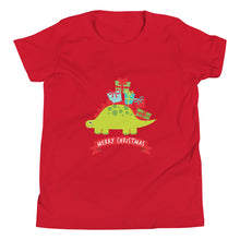 Load image into Gallery viewer, Merry Christmas Stego Youth Short Sleeve T-Shirt