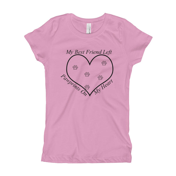 PawPrints Girl's Princess T-Shirt