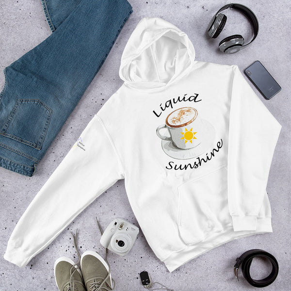 Liquid Sunshine Hooded Sweatshirt