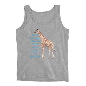 Be A Giraffe Ladies' Tank