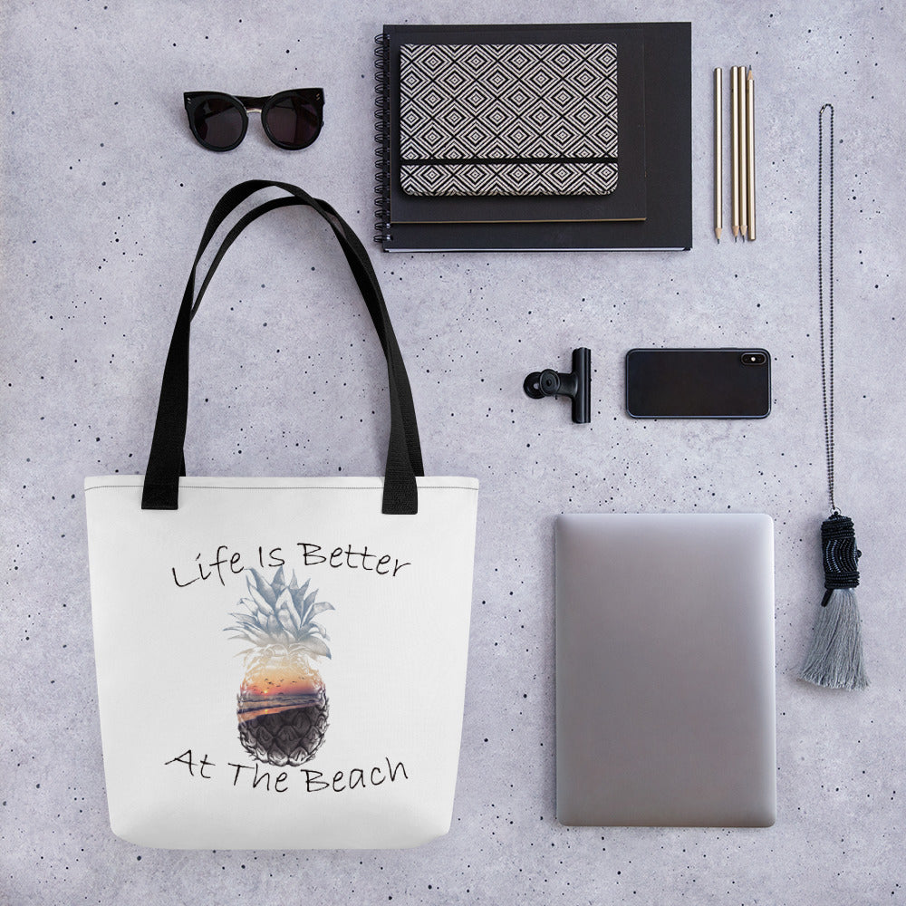 Life Is Better Tote bag