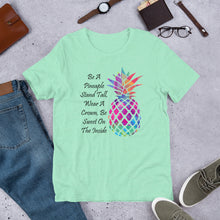 Load image into Gallery viewer, Be A Pineapple Short-Sleeve Unisex T-Shirt