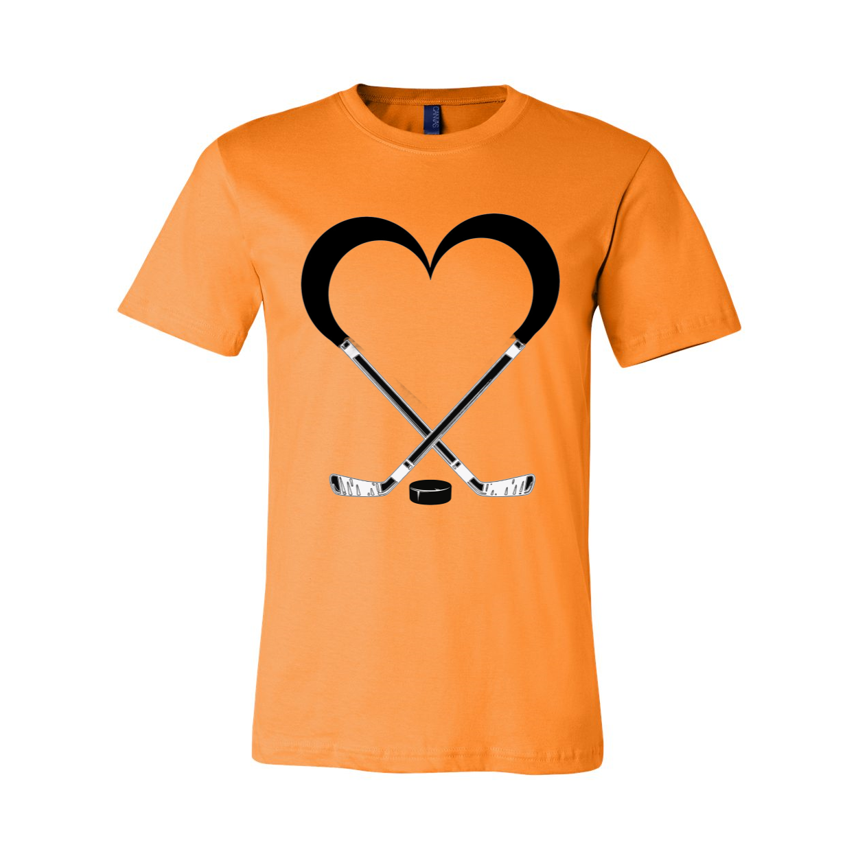 Love Hockey Unisex Short Sleeve Jersey Tee