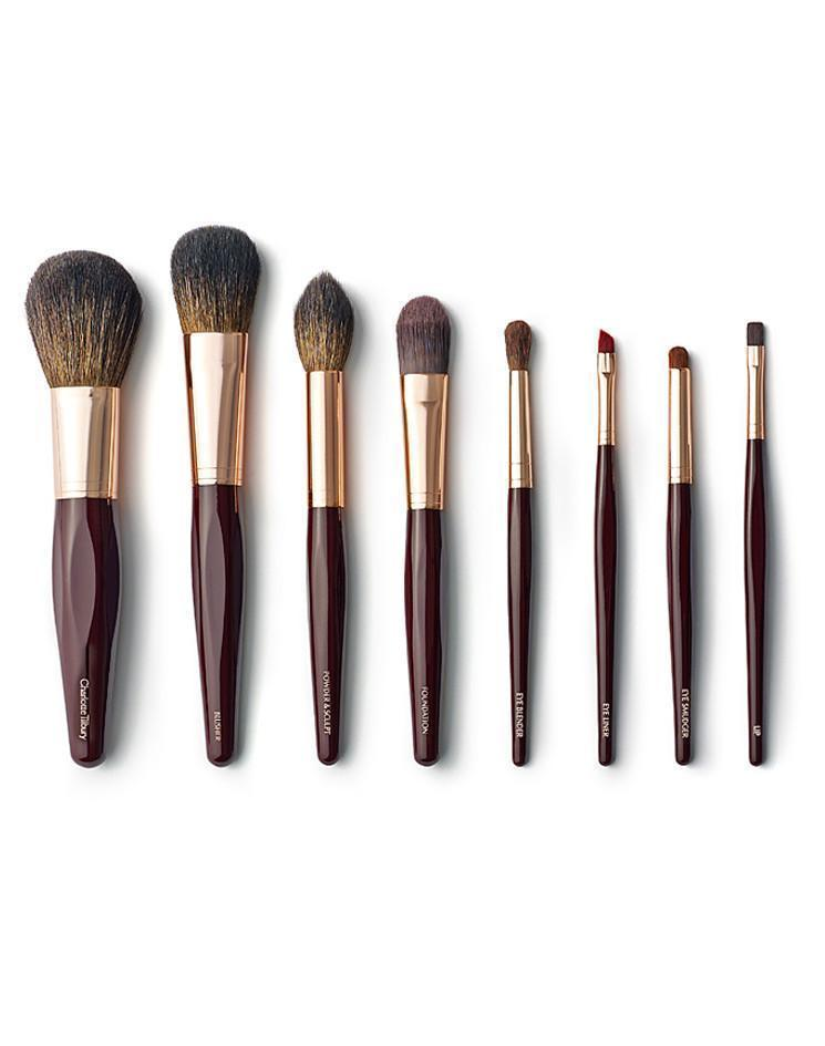Charlotte Tilbury 8 Piece Face & Eye Makeup Brush Set