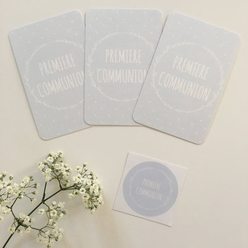 DUO MINI CARTES & STICKERS - COURONNE