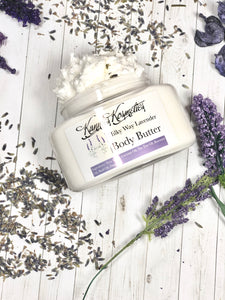 Milky Way lavender body butter