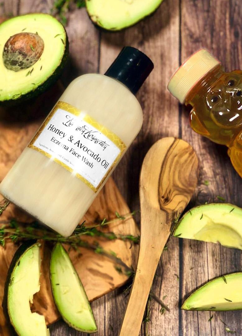 Honey & Avocado oil Eczema face wash