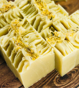 Calendula + Lime Body Bar