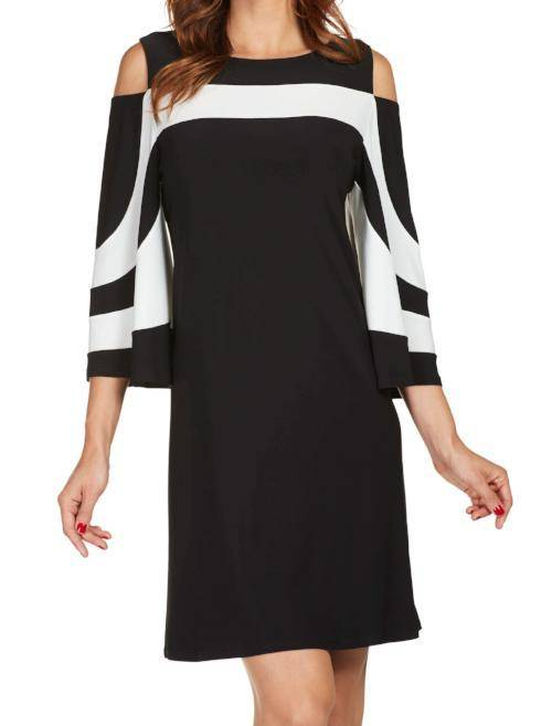 Frank Lyman Womens Cold Shoulder Dress