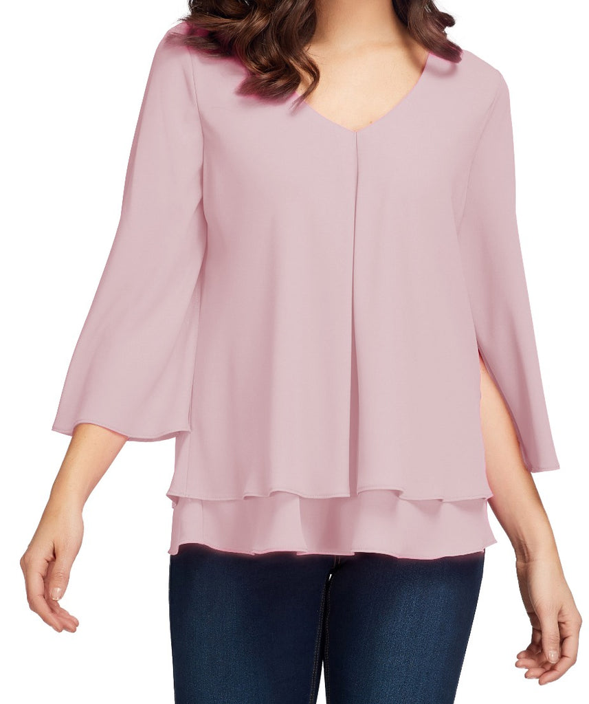 Frank Lyman Womens Layered Top - a-dream-fit.myshopify.com