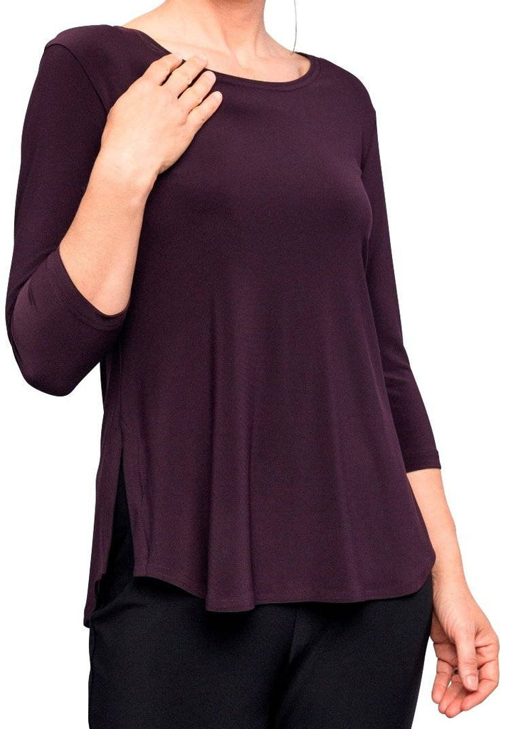 Sympli Womens Plus Size Go to Classic T Relax, 7 Colors - a-dream-fit.myshopify.com