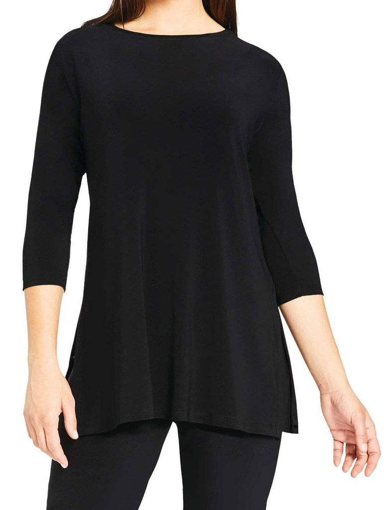 Sympli Womens Nu Ideal Tunic 3/4 Sleeves, 5 Colors