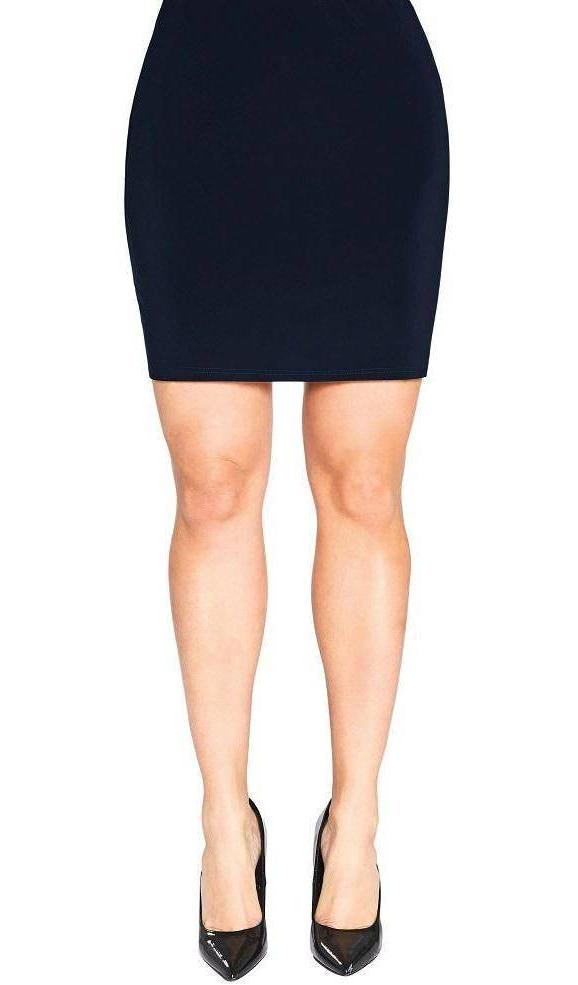 Sympli Womens Mini Skirt, 2 Colors