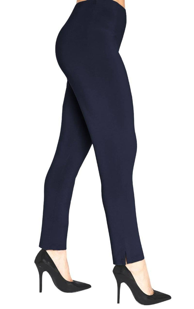 Sympli Womens Plus Size Narrow Pant Midi, 2 Colors - a-dream-fit.myshopify.com