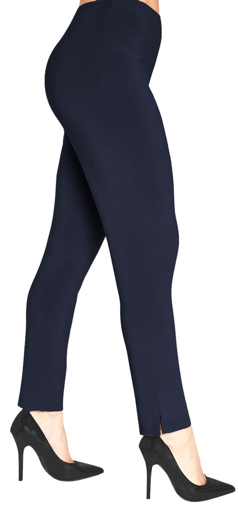"Sympli Womens Narrow Pant Midi, 28"" Inseam, Style 2748M, 3 Colors - a-dream-fit.myshopify.com"