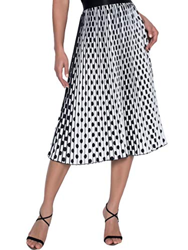 Frank Lyman Womens Pleated Midi Skirt Style 196118U